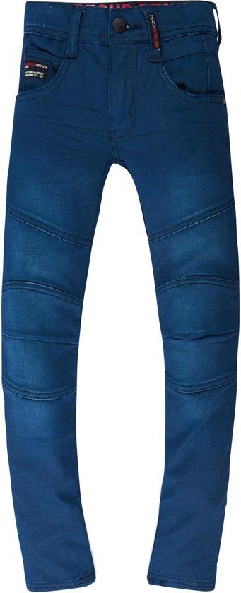 Retour Jeans Jongens Broek - Medium Blue denim - Maat 146