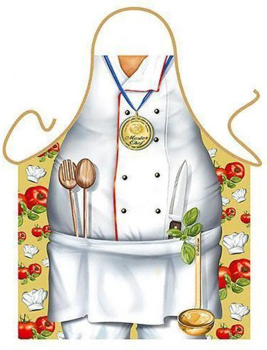 Chef Kok - Grappig Leuk Schort Keukenschort