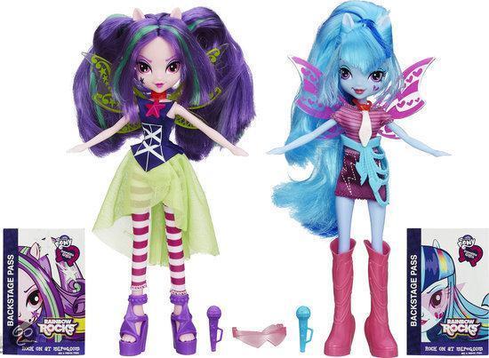 My Little Pony Equestria Girls - Set van twee