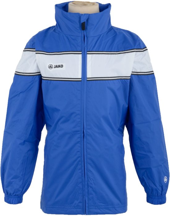 Jako RegenSportjas - TrainingsSportjas - Kinderen - Maat 116 - Blauw