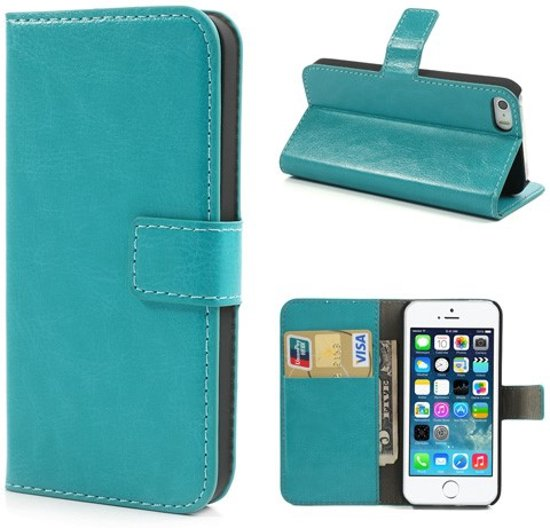 Cyclone cover wallet case hoesje iPhone 5