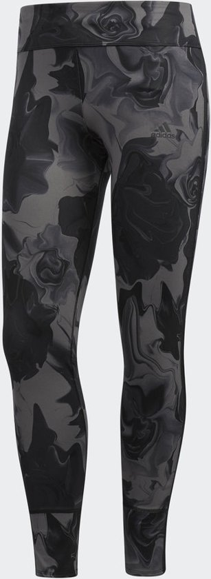 adidas Response Tight Sportlegging Dames - Grijs