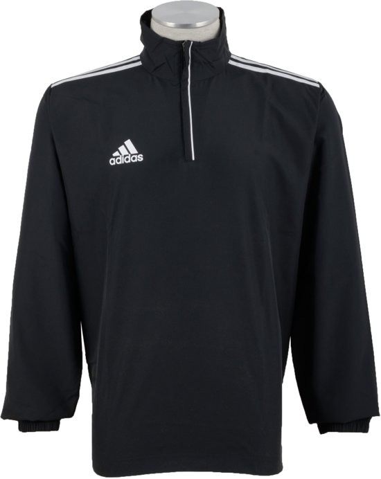 adidas Core 11 Windbreaker - Trainingsjas - Mannen- Zwart