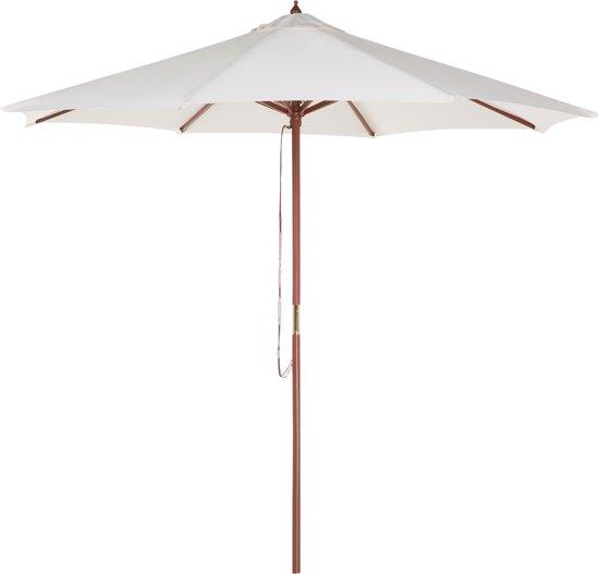 Beliani Parasol Toscana beige - Hout