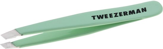 Tweezerman Mini Slant Tweezer Bahama Blue