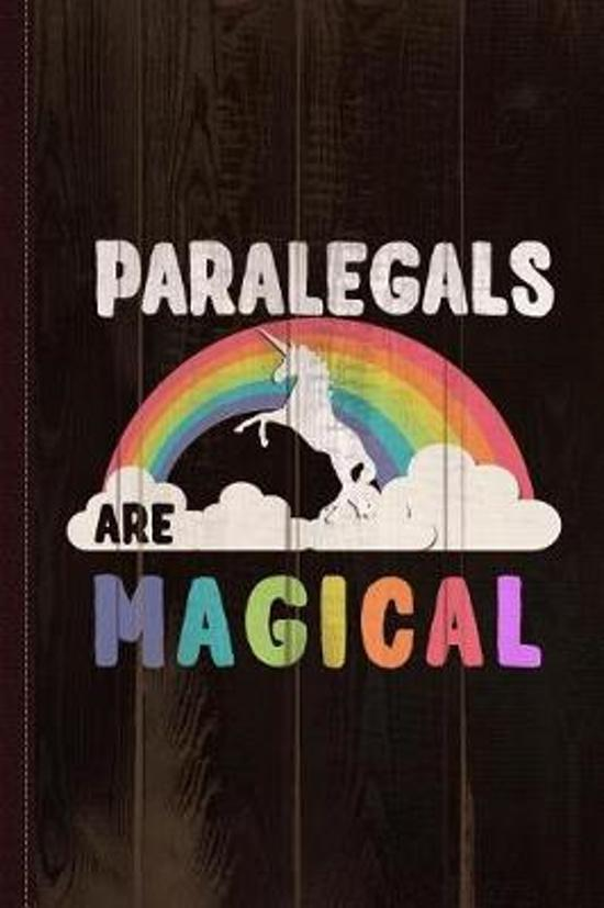 Paralegals Are Magical Journal Notebook