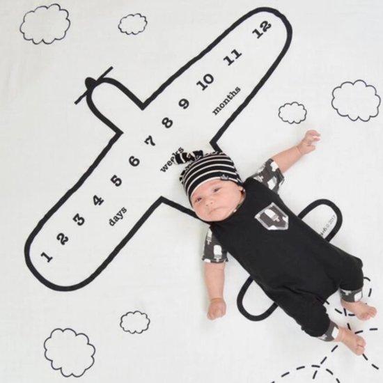 Baby Fotodeken - Baby Milestone Deken - Fotodeken - Kraamcadeau
