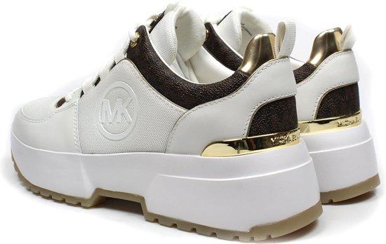 Michael Kors Cosmo Trainer Dames Sneaker - Bright White Multi