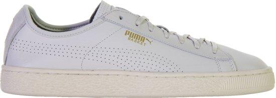 Wit Soft Puma Classic grijs Mannen 42 Basket Heren Maat Sneakers vP7Aq