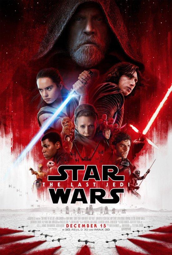 POSTER Star Wars - The Last Jedi