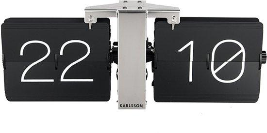 Karlsson No Case Flip Tafelklok/Wandklok 14 x 36 cm