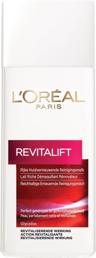L'Oréal Paris Revitalift Reinigingsmelk - 200 ml - Anti Rimpel