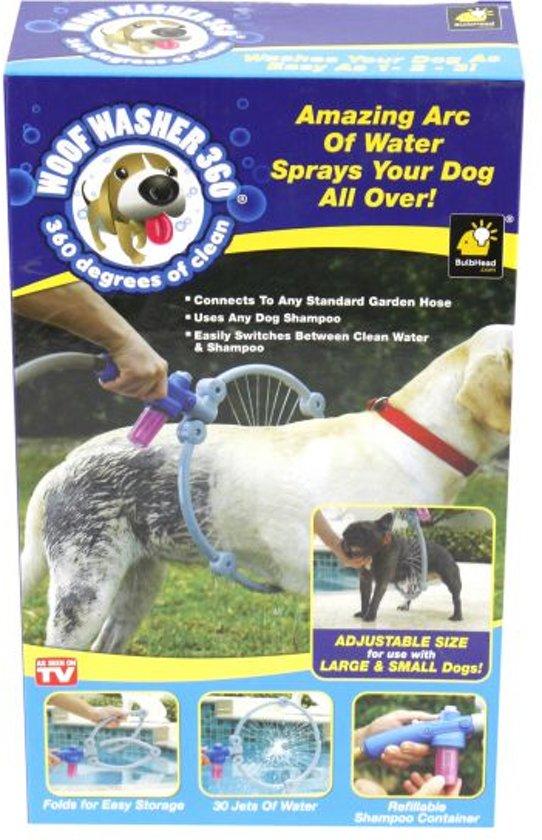 Hondendouche Woof Washer voor aan tuinslang