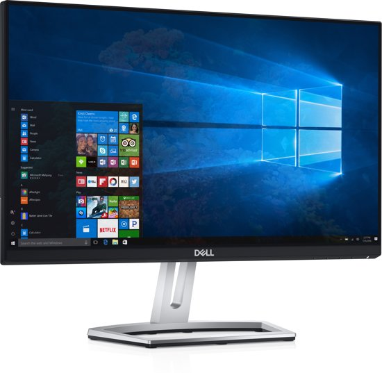 DELL S Series S2218H 21.5'' Full HD LED Flat Zwart computer monitor