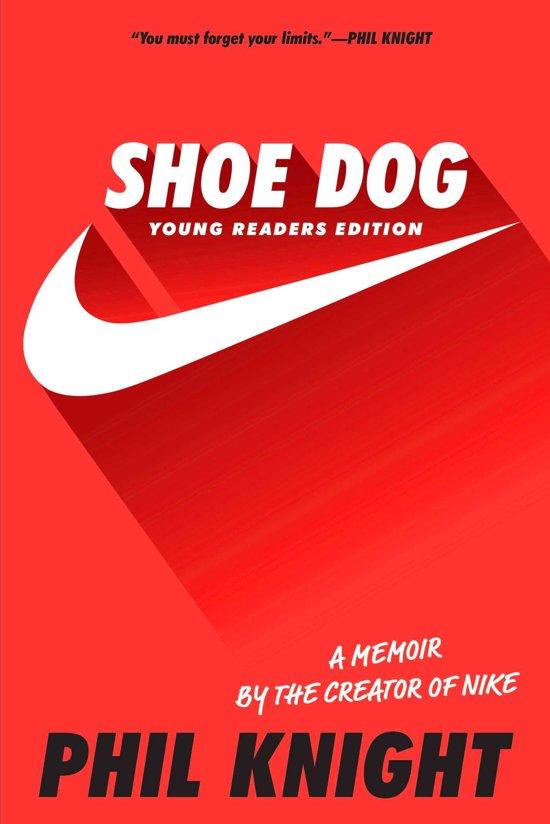 Boek cover Shoe Dog van Phil Knight (Onbekend)