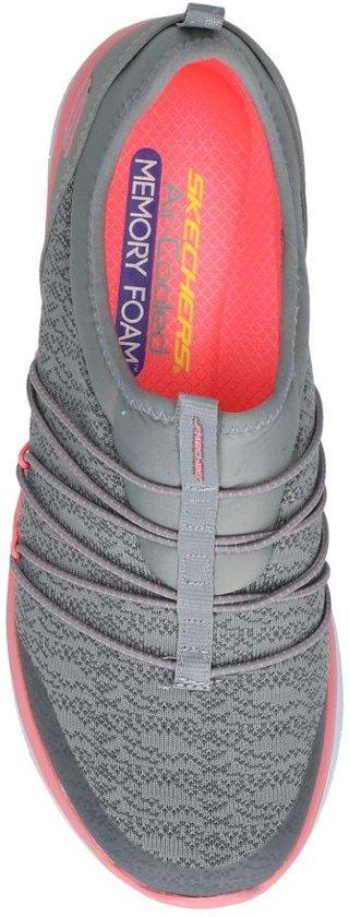 Synergy Sneakers on Grijze Skechers Slip I7xxaq