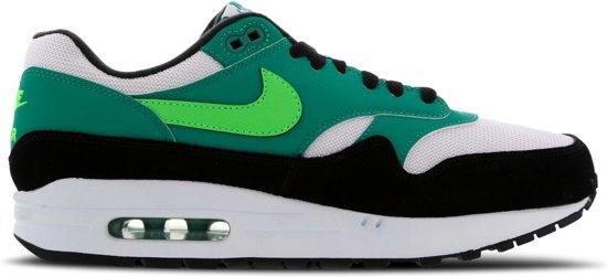 Sneakers 44 Air Heren Max wit Nike 1 Maat Groen zwart HgqnUnxw