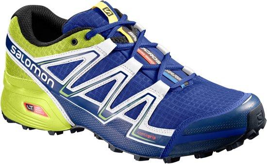55e33954234 Salomon Speedcross Vario Trail Hardloopschoenen - Maat 42 2/3 - Mannen -  blauw/