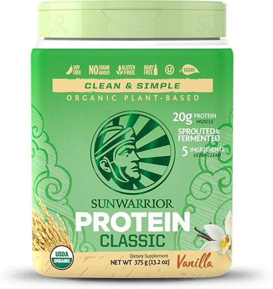 Sunwarrior Classic Protein Vanille - 375 gram