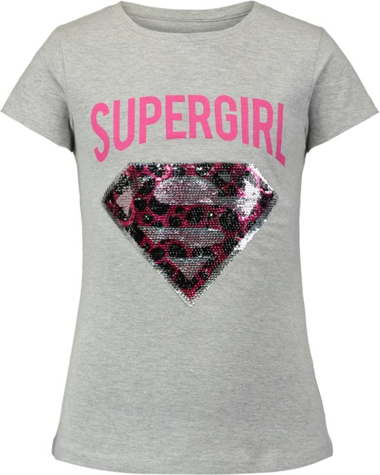 2ed178a508090d Coolcat Shirt T-shirt Esupery - Licht Grijs Melange - 122 128