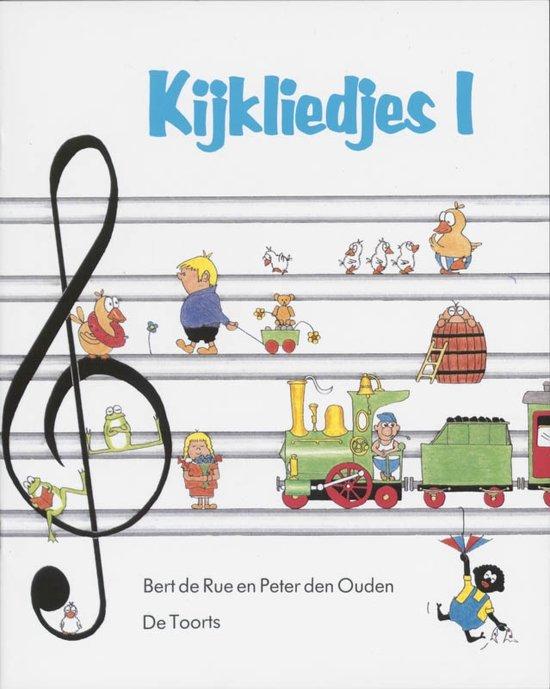 Cover van het boek 'Kijkliedjes / 1' van P. den Ouden en B. de Rue
