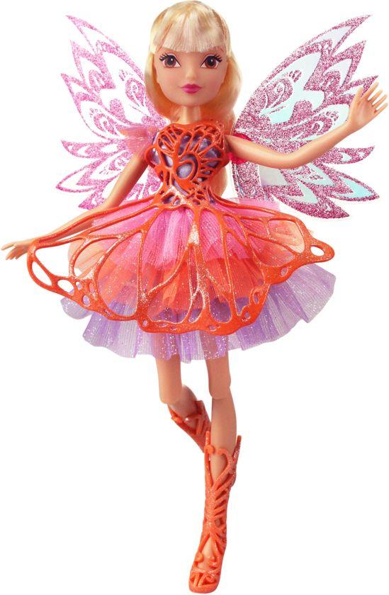 Winx Club - Pop Butterflix Fairy Stella 30 cm