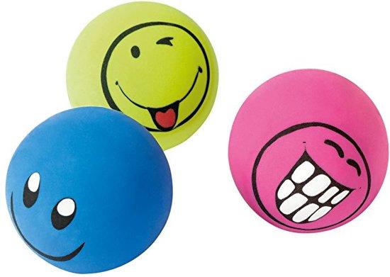 Gum Ballen Smile Face - 3 Stuks