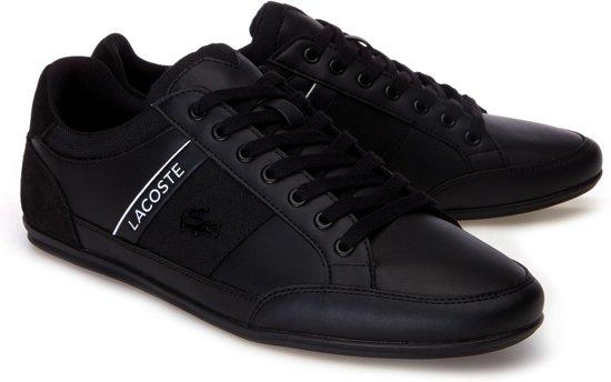 Lacoste Chaymon  Sneakers - Maat 43 - Mannen - zwart