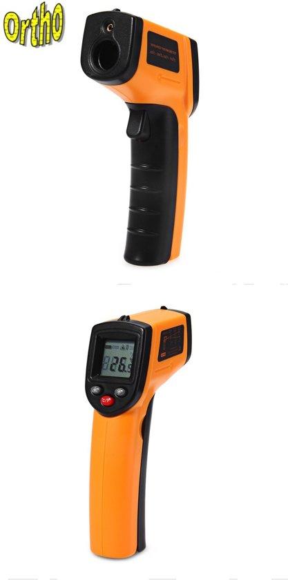 Digitale Infrarood Thermometer - Draadloze IR Laser Temperatuurmeter Dit is de G uitvoering de meest nauwkeurige!