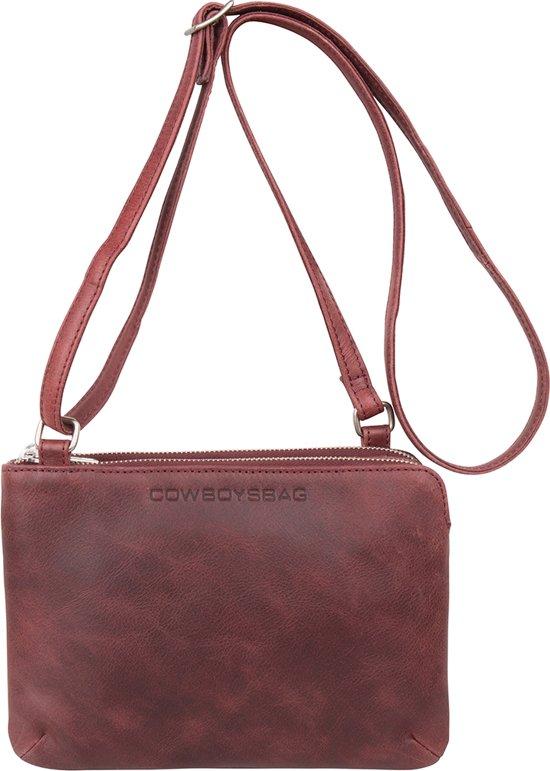 91cf7a23acd bol.com | Cowboysbag Bag Adabelle Schoudertas Burgundy 2108