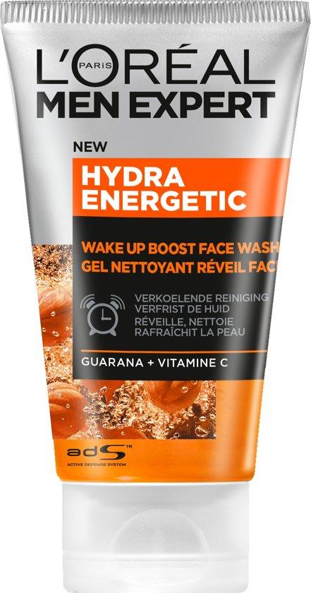 L'Oréal Men Expert Hydra Energetic Gezichtsreiniger - 150ml - Reinigingsgel