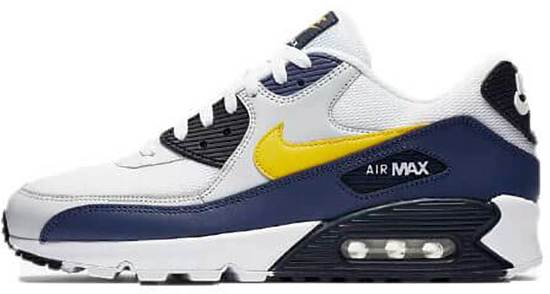 nike air max 90 heren geel
