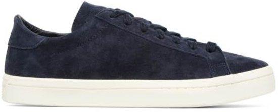 760f3a3fd44 bol.com | Adidas Sneakers Court Vantage Dames Blauw Maat 40