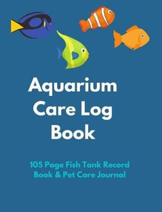 Aquarium Care Log Book