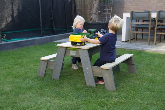 EXIT Aksent Zand & Water Picknicktafel (2 bankjes)