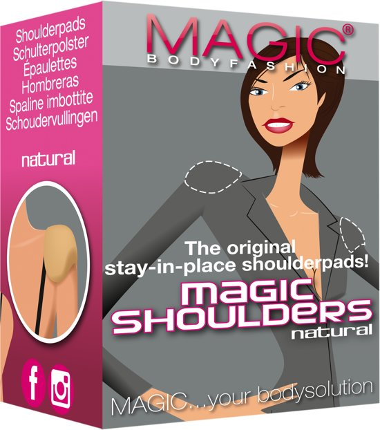 Magic Natural Shoulderpads