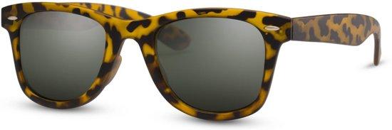 d834e3c37a47a6 Cheapass Zonnebrillen - Wayfarer zonnebril - Goedkope zonnebril - Leopard