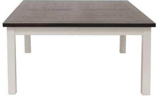 Eettafel Wit Vierkant.Bol Com Canett Skagen Vierkante Eetkamertafel 150x150 Cm Wit Grijs