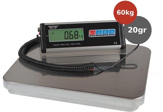 My weigh HDCS-60 Pakket Weegschaal 60kg x 20gr