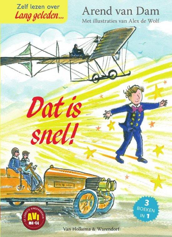 Boek cover Lang geleden - Dat is snel! van Arend van Dam (Hardcover)