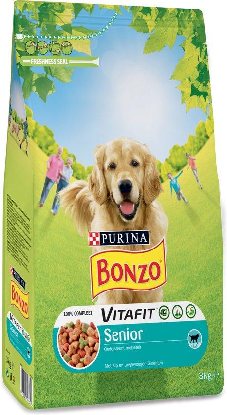 Bonzo Senior Kip - Hondenvoer - 3 kg