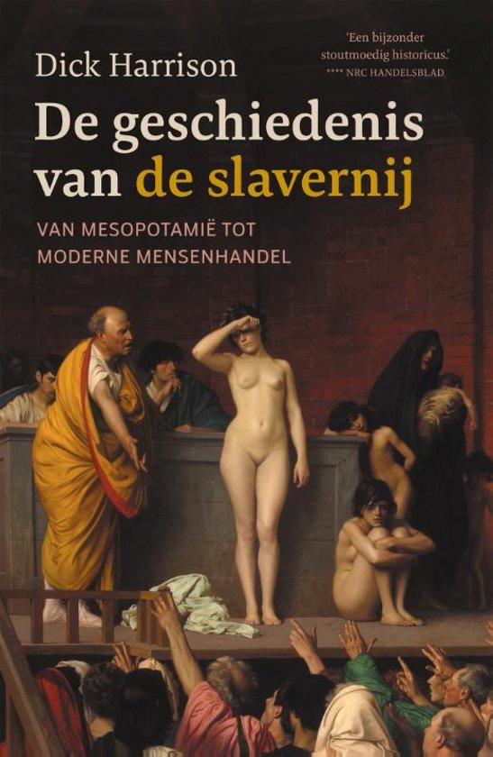 Boek cover De geschiedenis van de slavernij van Dick Harrison (Hardcover)