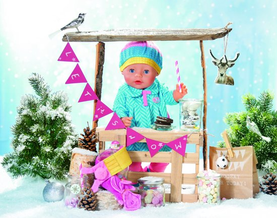 BABY born® Deluxe Cold days