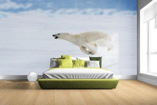 FotoCadeau.nl - Ijsbeer bij bevroren zeeijs Fotobehang 380x265