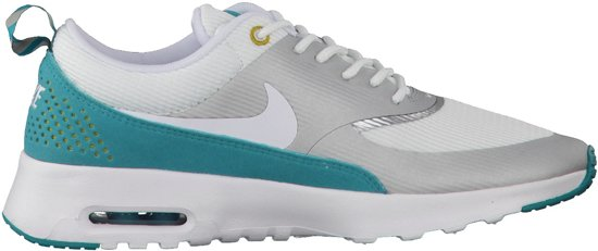   Nike Air Max Thea Sneakers Dames grijsgroen