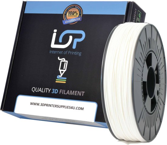 IOP PLA 1,75mm White 500gr