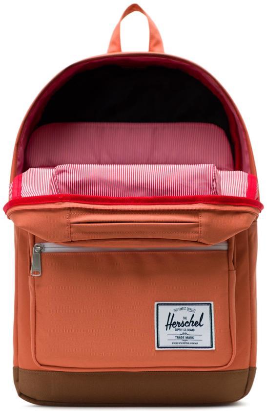RugzakApricot BrandySaddle Supply Brown Herschel CoPop Quiz ul3FKJcT1