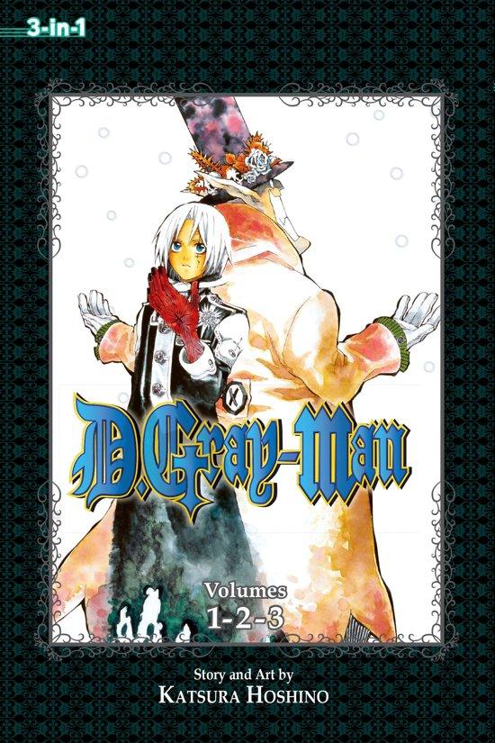 Boek cover D.Gray-man (3-in-1 Edition), Vol. 1 van Katsura Hoshino (Paperback)