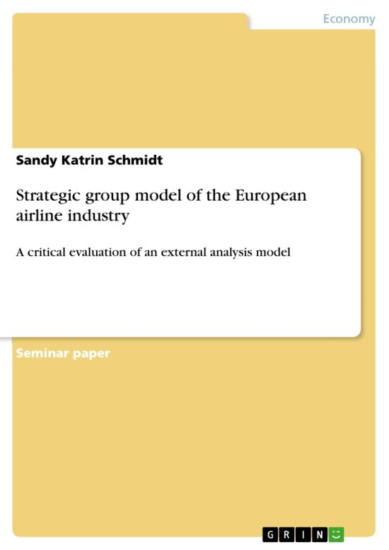 the structure of the airline industry essay