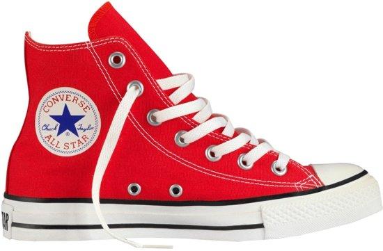 9bce5f6b101 bol.com | Converse Chuck Taylor All Star Hi Sneakers Rood Maat 36 1/2